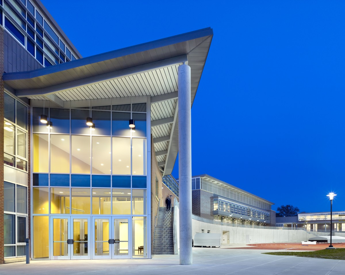 Coppin State University >> Coppin State University Physical Education Complex Hope Furrer