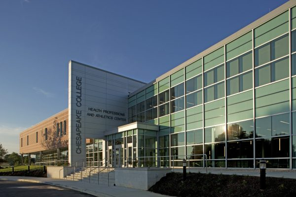 Chesapeake College Health Professions and Athletics Center